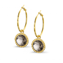 Earring Piña Gold Plated