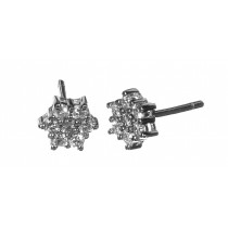 Pendientes 14 diamantes 0,45k - 7,5mm