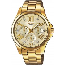 Reloj Casio W6 Sheen SHE-3806GD-9AUER